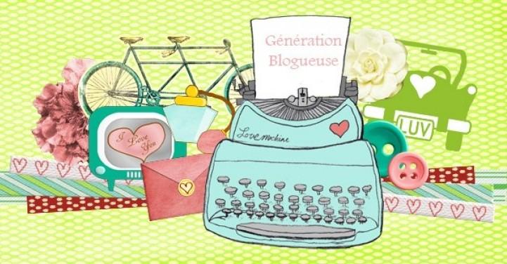 génération blogueuse bannière