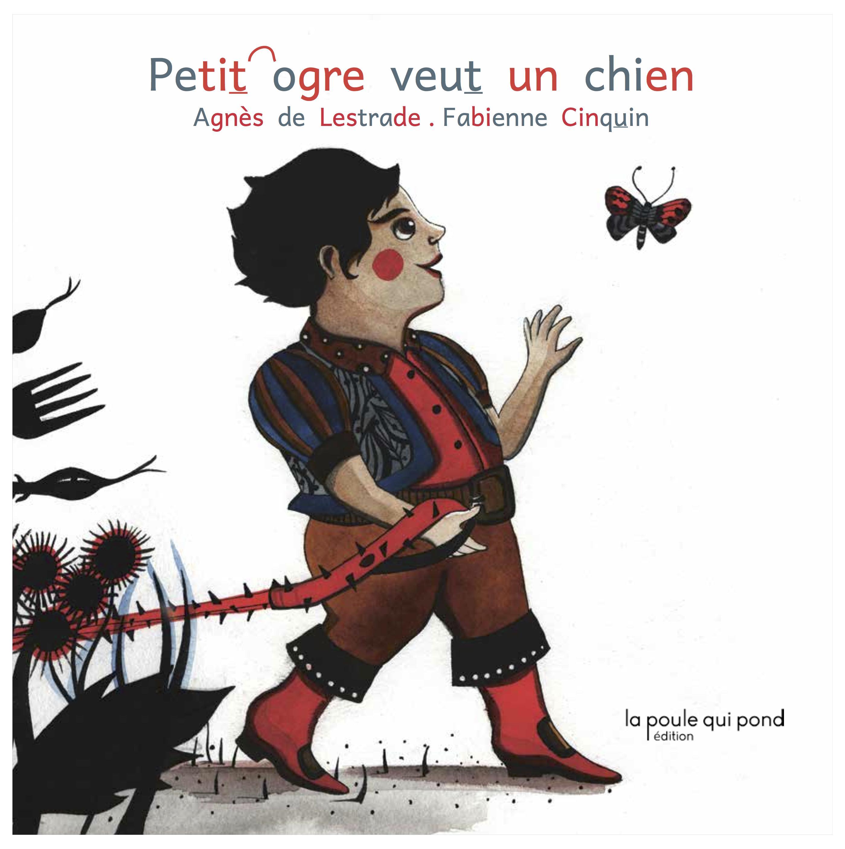 Petit ogre veut un chien, illustration de Fabienne Cinquin