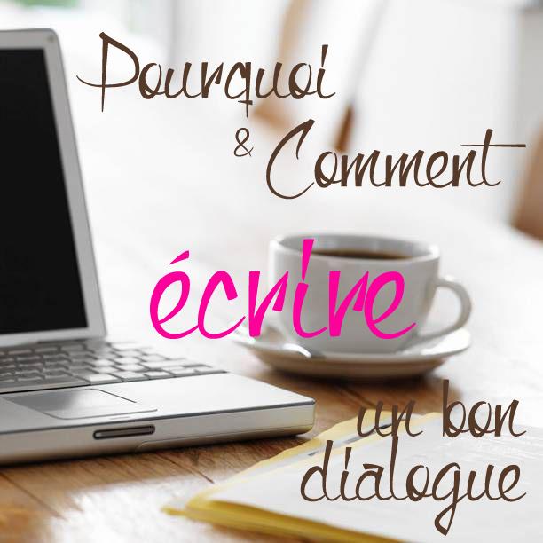 écrire un bon dialogue