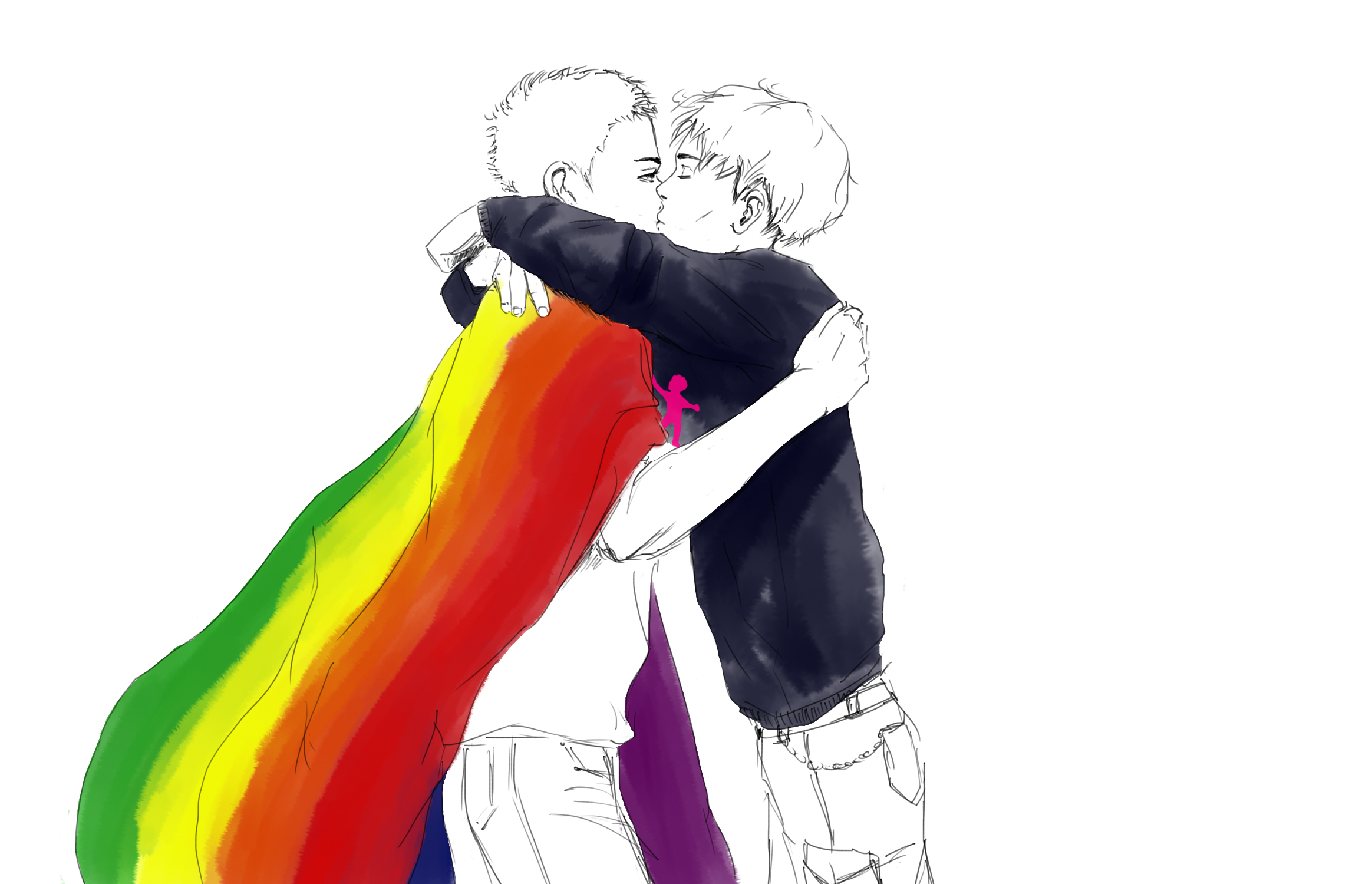 baiser gay manif pour tous