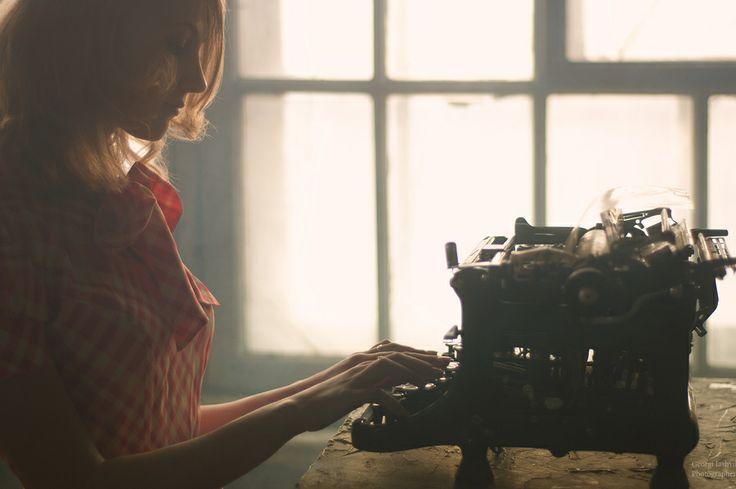 Femme écrire