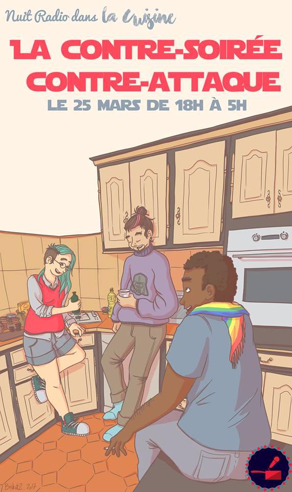 Affiche officielle de la Cuisine 2